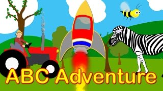 ABC Adventure - A new&fun way to learn the alphabet for children. ABCs&Alphabet.