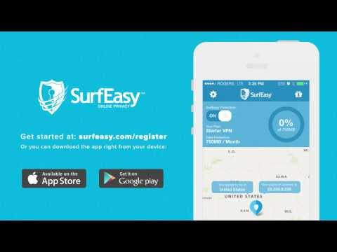 Video of SurfEasy VPN for Android