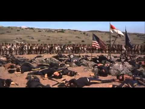 General Custer and his men are annihilated by the Sioux and Lakota at the Little Big Horn