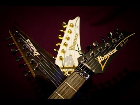 ibanez - Paul Glover runs through the various tones and features of his Ibanez guitar collection. The Jem 7VWH, JS1000 and RGA121 J-Craft. 1999 Jem 2005 Js1000btb 200...