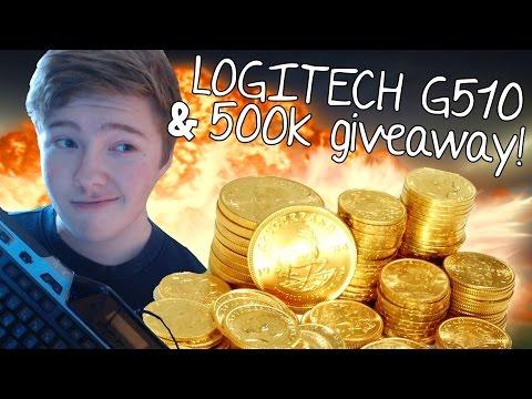 4000 Subscribers Giveaway! Logitech G510 & 500k! [DK] (видео)
