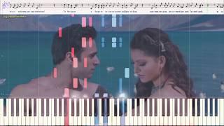 Ты мой Рай - Олег Голубев (Ноты и Видеоурок для фортепиано) (piano cover)