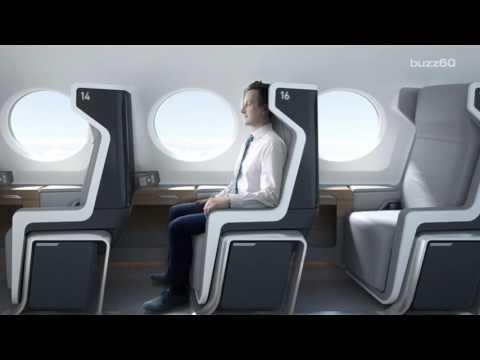 「台灣飛日本只需1.3小時」的超音速客機真面目曝光,內部設計讓大家都超想撘啊!