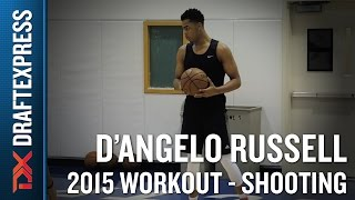 D'Angelo Russell 2015 NBA Draft Workout Video - Shooting