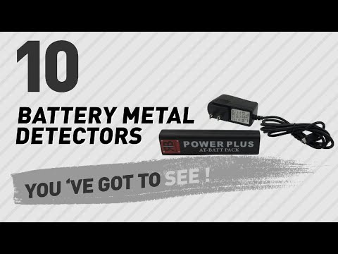 Battery Metal Detectors // New & Popular 2017