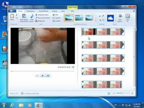 How to open .FLV files in Windows Live Movie Maker (видео)