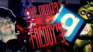 Garry's Mod : FIVE NIGHTS AT FREDDY'S MURDER! (Funny Moments!)