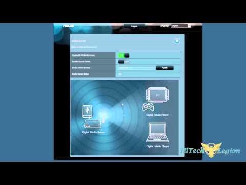 ASUS RT-N56U Dual-Band Wireless-N Gigabit Router User Interface Tutorial