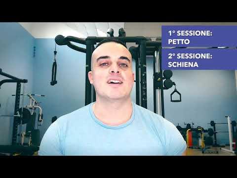 Scheda Palestra: quali muscoli alleno in ogni sessione?