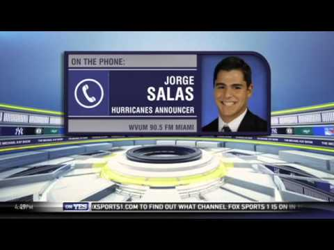 Video: U. of Miami announcer Jorge Salas discusses his brother's perfect game - The Michael Kay Show