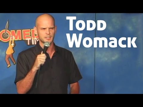 Todd Womack - Todd Womack thinks bull fighting was invented by a gay Spanish man.