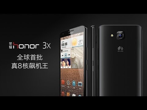 Huawei Honor 3X (G750) первый взгляд