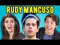 TEENS REACT TO RUDY MANCUSO