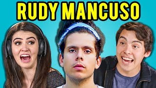 Video TEENS REACT TO RUDY MANCUSO MP3, 3GP, MP4, WEBM, AVI, FLV Maret 2018