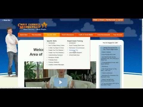 Chris Farrell Membership Review- How To Make Money Online