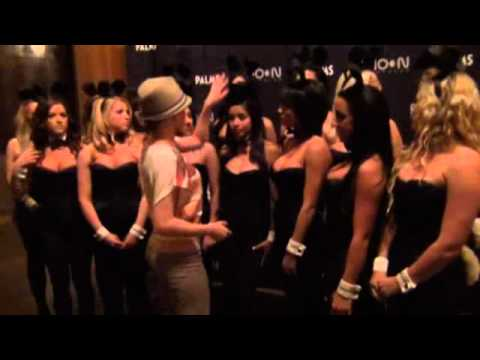 2012 Palms Casino Playboy Bunny Black Jack dealers photo shoot