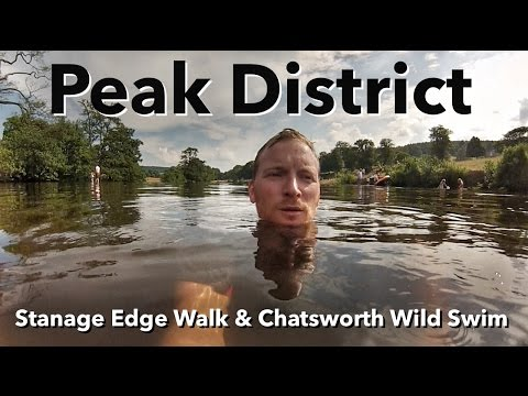 Peak District Walk - Stanage Edge & Chatsworth Wild Swim