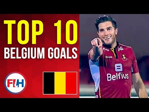 TOP 10 BELGIUM MEN'S HOCKEY GOALS! | FIH Hockey