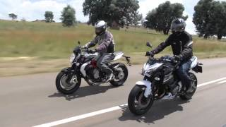 2. Mid-sized Naked Sportbikes; MV AGUSTA BRUTALE 800 vs KAWASAKI Z800