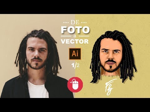 De Foto A Vector | Illustrator Tutorial (Mouse)