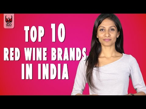 Top 10 Red Wine Brands in India - A must know list for Wine Lovers || Badass