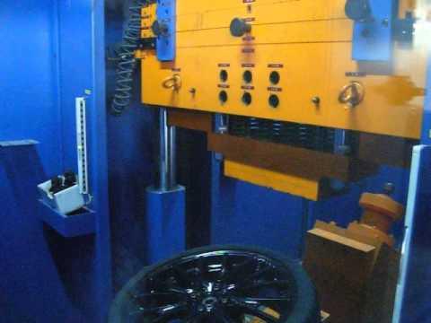 Тест на прочность колёсных дисков WSP Italy W1653 RIVERS на удар (Mini)