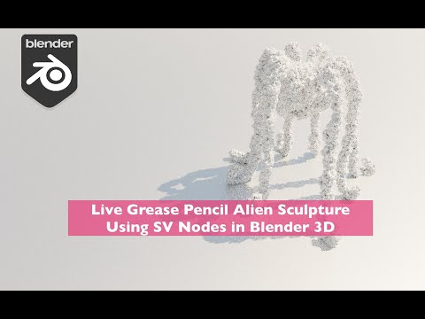 LIVENODING X Live Grease Pencil H.R. Gigle Style Alien Sculpture