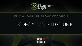 FTD.B vs CDEC.Y, game 2