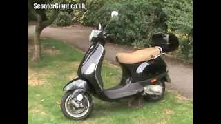 2. ScooterGiant review VESPA LX50