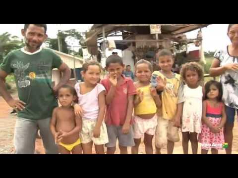 Uma nova realidade para a família de Maria Alcileide, lá em Tarauacá...