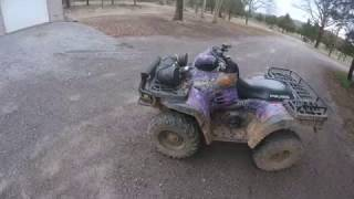 5. Riding the old polaris sportsman 500 ho ( Read Description )