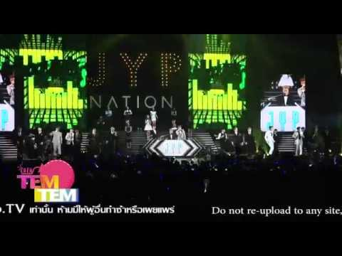 JYP - 141213 JYP NATION in BANGKOK 2014