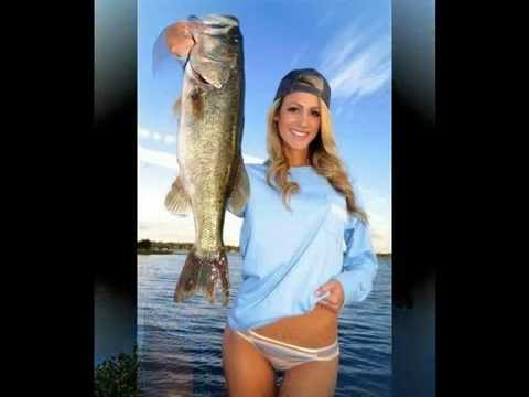 Fishing For Bass With Hot Babes