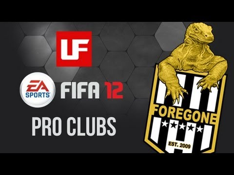FIFA 12 Pro Clubs: The Foregone Way