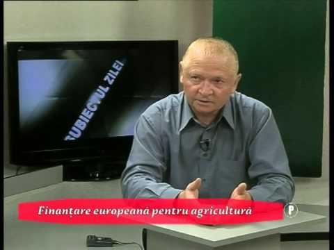 Finanțare europeană pentru agricultura românească