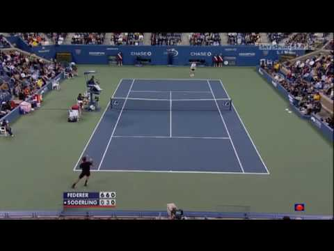 Federer – Soderling (US Open 2009)