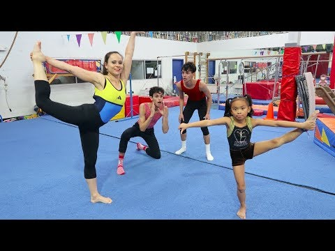 WHO WILL WIN FAMILY GYMNASTICS CHALLENGE