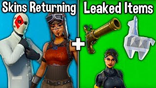 RENEGADE RAIDER + WILDCARD RETURNING! New Leaked Skins + MORE! (Fortnite Battle Royale)