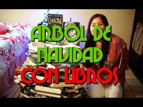 Librero en forma de arbol videos videos relacionados - Arbol de navidad con libros ...