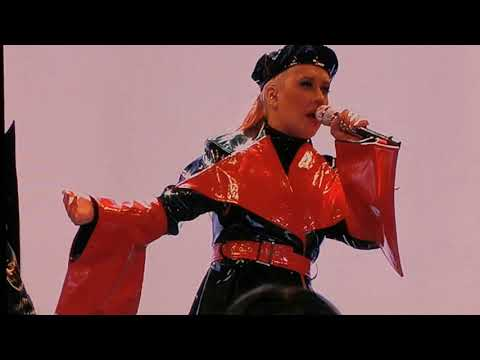 Christina Aguilera - The X Tour 2019 - Moscow : Ain't No Other Man