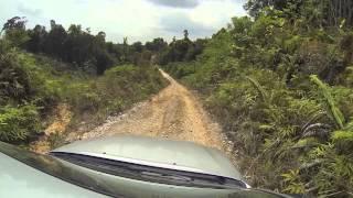 Marudi Malaysia  City new picture : Driving to Marudi Region of Sarawak Malaysian Borneo