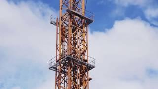 Сборка башенного крана