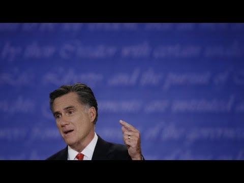 Mitt Romney's 5 Biggest Debate Lies Video