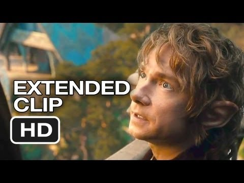 The Hobbit: An Unexpected Journey Extended Blu-Ray Scene (2012) - Peter Jackson Movie