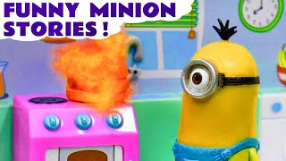 Minions Funny Mini Movies & Stop Motion Play Doh Ice Cream Prank Surprise 1 Hour Compilation