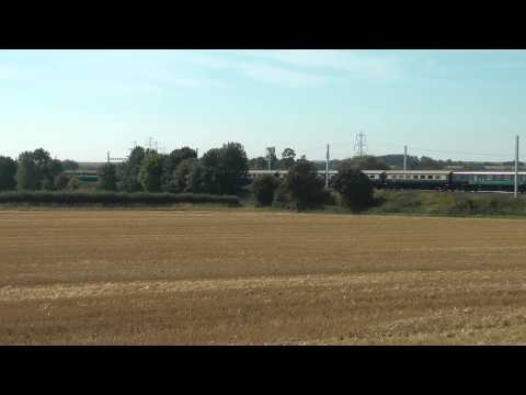 Class 37 power on 'The Bournemouth Flyer' 22nd August 2015