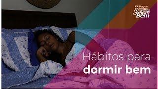 Hábitos para dormir bem