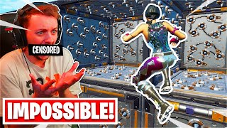 This 9 LEVEL Deathrun is IMPOSSIBLE... *RAGE* (Fortnite Creative)