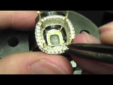 Handmaking an Emerald Ring by RDG.