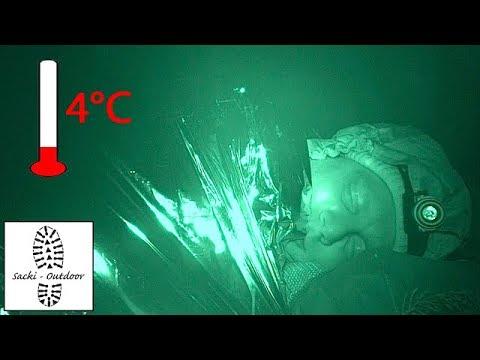 Test: Bei 4°C in der Rettungsdecke